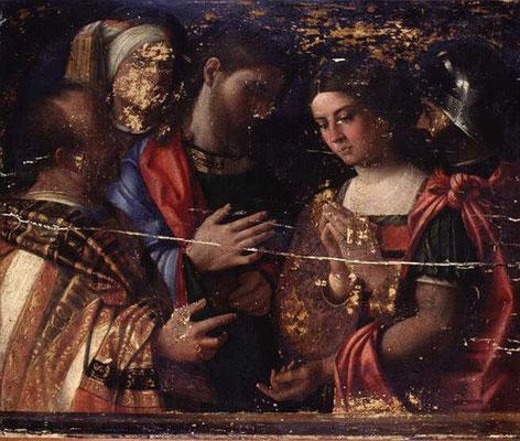 Domenico Mancini,(1.H.16.Jh) Musée Condé Chantilly (Nr.134)
