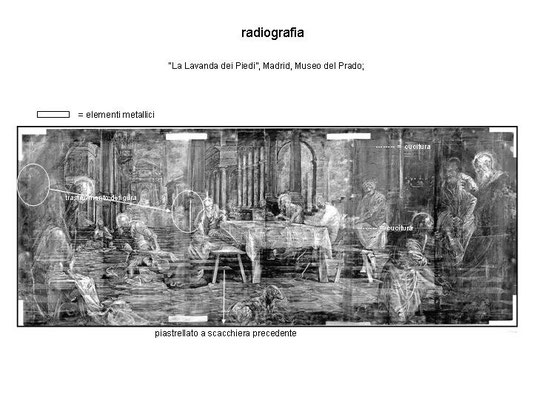 Lavanda von Madrid (Radiographie) Verlegung des Judas