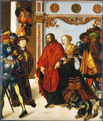 Lukas Cranach d.Ä.& Gehilfen, (Halle1520/25), Bayr.Staatsgem. Smgl. München