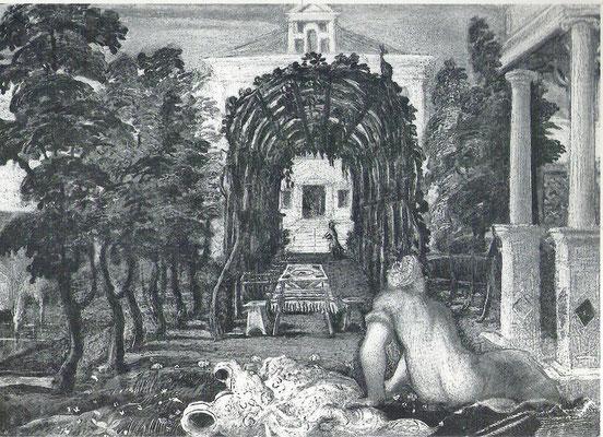 Jacopo Tintoretto, Susanna (Fragment), Holztafel. Coll.privata