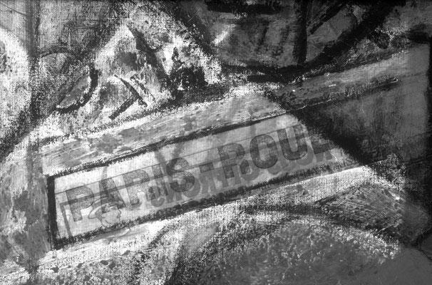 """Au Vélodrome Collage 1 Infrarot """"1er, Crupelandt sur La Française"""""""