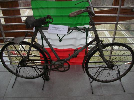 Bicicletta militare (Bianchi) del museo Ghisallo