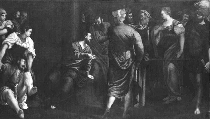 J.o Tintoretto und Gehilfen, Werkstattvariante, Kunstmuseum Budapest, Lw.186,5x328cm