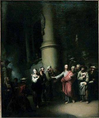 Christian Wilhelm Ernst Dietrich(Weimar 1712-1774 Dresden) 1753  Lw.109x87cm Louvre