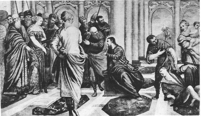 Jacopo Tintoretto und Gehilfen, Museum of Art Atlanta (Lw.163x244cm ,Foto 1982))