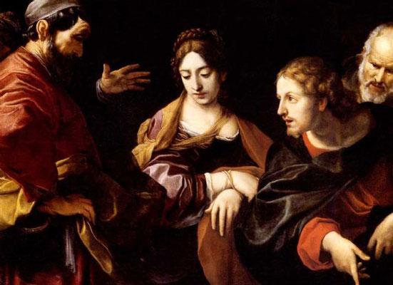 Alessandro Tiarini (1577-1668 Bologna) (Lw.115x151cm) Kunsthandel