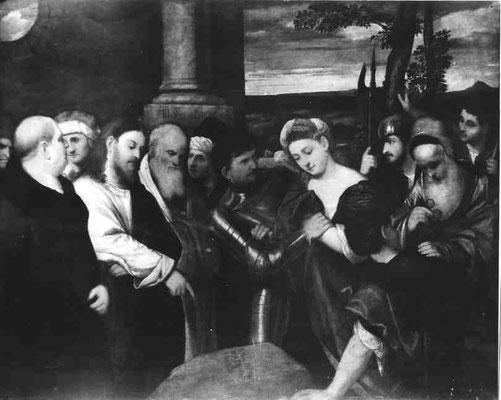 Bonifazio Veronese(1483-1553), Muzeum Narodowe Warschau (Lw.134,5x171cm)