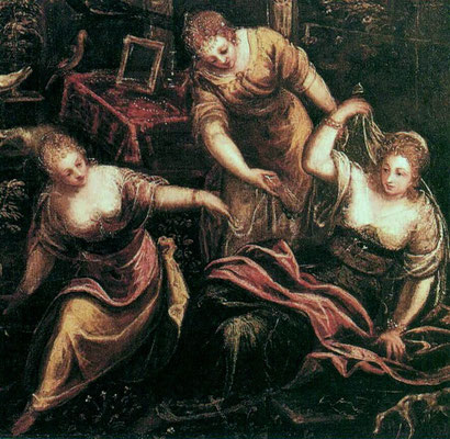 Tintoretto-Bottega, Susanna, Wiederholung privat