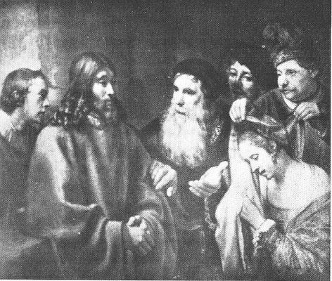 Titus van Rijn (1641-1668), Ehebrecherin (Lokalisierung fehlt)