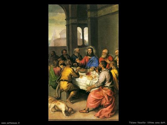 Tizian,Ultima Cena 1542/44, Urbino, Gall.naz. d.Marche