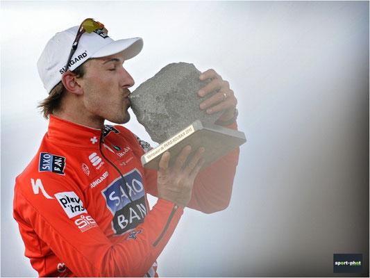 Fabian Cancellara, Sieger des Paris-Roubaix 2010
