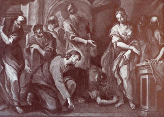 Francesco Pittoni (1687-1767), San Niccolò Treviso, (Lw.185x270cm)