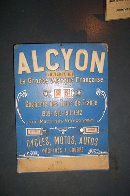 publicité Alcyon 1909-1912