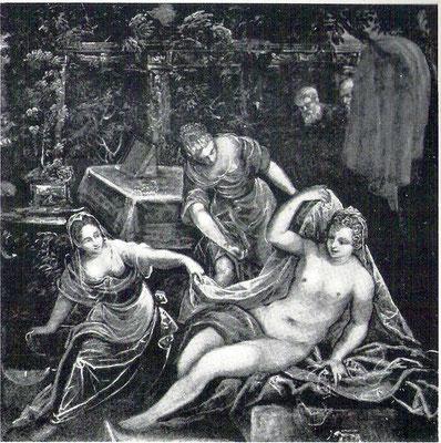 Tintoretto-Bottega, Susanna ehemals Sammlung Nemes