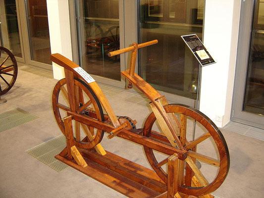 """""""Leonardo""""- Fahrrad-Nachbau"""