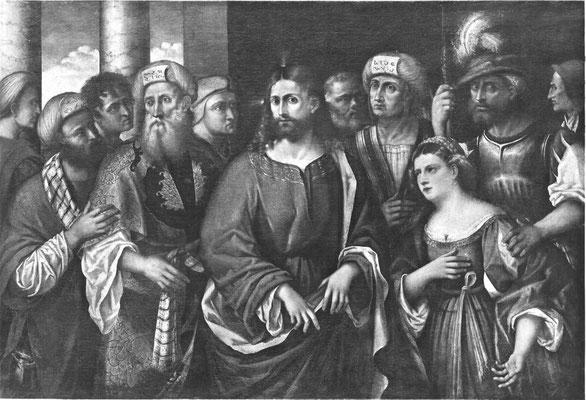 nach Rocco Marconi(+1529 Venedig), Gallerie dell'Accademia di Venezia, Lw.120x173cm