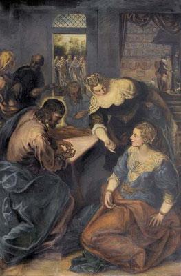 Marie Hausherr (18070-1940) formatgleiche Kopie des Münchner Gemäldes (um 1900);Besitz E.W.