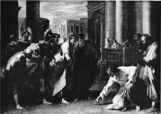 Sebastiano Ricci (1659-1734), Nationalgalerie Prag, (Lw.42,5x61cm)