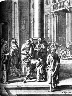 Scheits Mathias (1625/30-1700 Hamburg) Maler & Radierer Luther-Bibelill. 1672