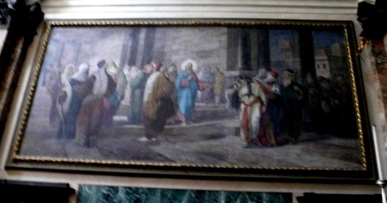 Virgilio Monti (*1852), Presbyterium S.Giorgio al Palazzo, Milano 1891 (Lw.ca 4x7m)
