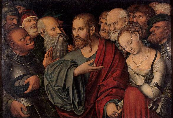 Lukas Cranach d.Ä. Budapest Kunstmuseum, Holztafel 1532