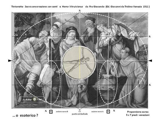 Tav.VIII Sacra Conversazione Molin nel contesto vitruviano...