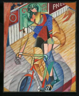 "Jean Metzinger,Un cycliste (ehemals ""Helft""),andere Aufnahme"