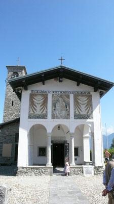Madonna del Ghisallo, la chiesa dei ciclisti