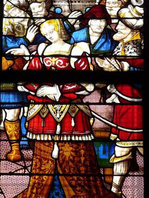 St.Patrice, Rouen 16.Jh.Detail