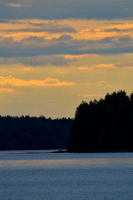 Mitternachtssonne Finnland