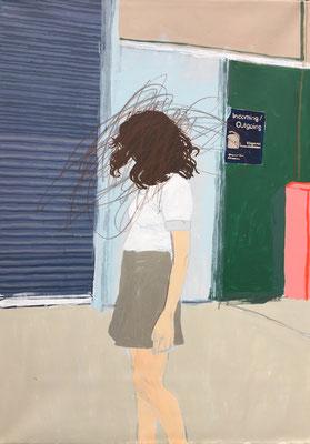 Dancing alone, 135x95cm, acrylic on canvas