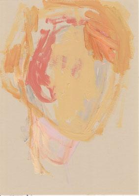 097 , acrylic on paper , 29.7 x 21cm , Selina Saranova