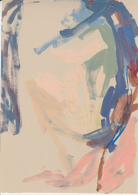133 , acrylic on paper , 29.7 x 21cm , Selina Saranova