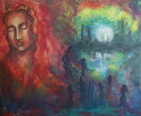 Nuria, Goddess of the Moonlight