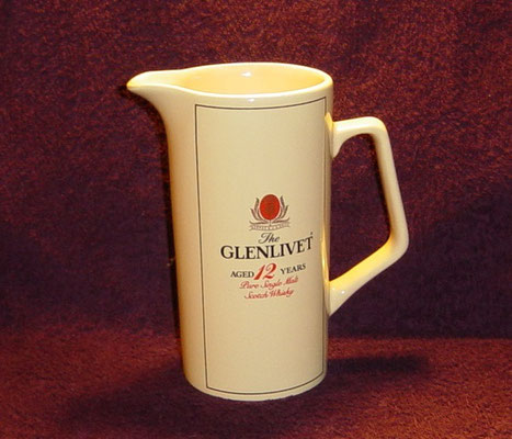 Glenlivet_17.5 cm._Made England_Red