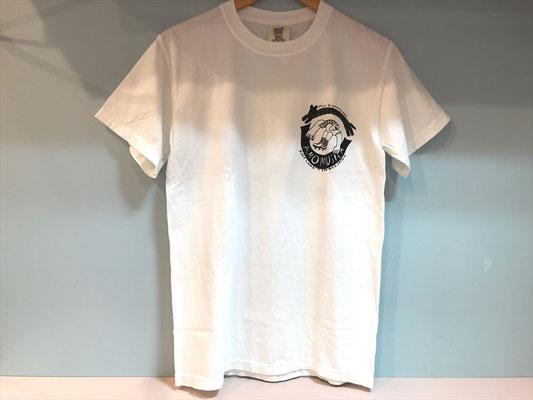 【GS409~411】Norahi / T-shirts WHITE (S/M/L) ¥3,800 +tax