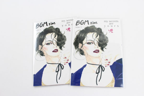 【GS181】Violet And Claire BGM zine ¥824 +tax