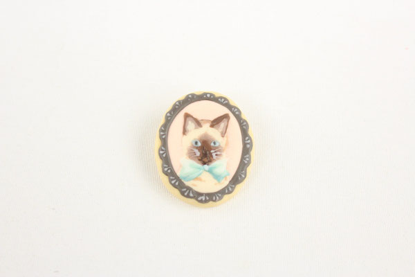 【GS346】fragola - クッキーブローチ(Cat) ¥5,100 +tax