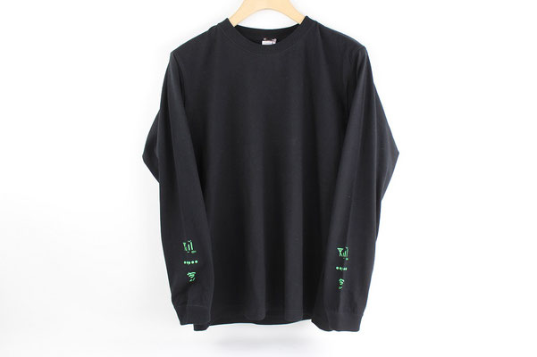 【GS454~456】ki_moi - きもいんた~ねっとT (M/L/XL ブラック・蛍光グリーン) ¥3,500 +tax