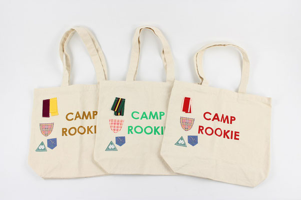 【GS165】Nine Stories - Camp Rookie Tote Bag ¥2,700 +tax
