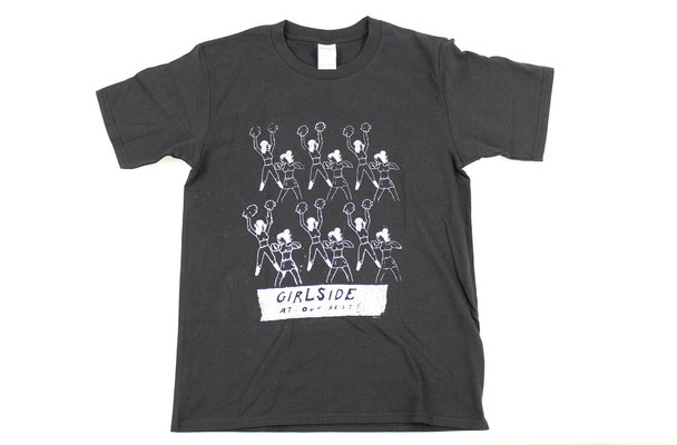 【GS221/GS222】Girlside at Our Best T-shirts (Black) ¥2,800 +tax
