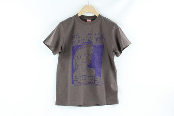 【GS415~417】norahi - T-shirts (BROWN/S,M,L) ¥3,800 +tax