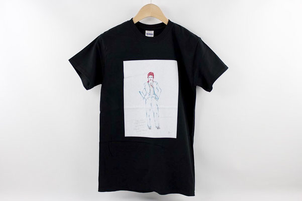 【GS250/GS251】life on mars BLACK T-shirts (S/M) ¥3,900 +tax