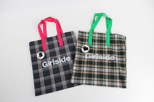 【GS279】Nine Stories / Check Tote Bag ¥2,700 +tax