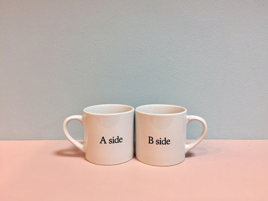 【GS54】 Violet And Claire Mug Cup (Aside/Bside) ¥1,750 +tax