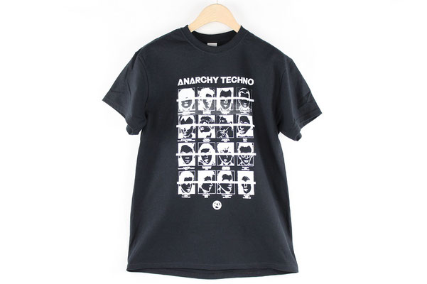 【GS141/142】ANACHY TECHNO T-SHIRTS (BLACK)(S/M)¥3,241 +tax