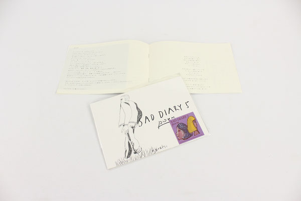 【GS423】norahi - sad diary 5 poem (poem zine) ¥500 +tax
