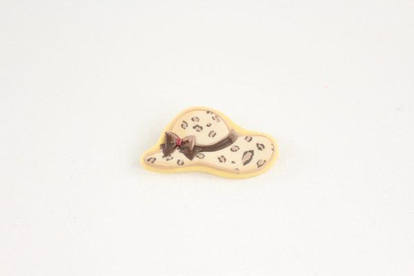 【GS347】fragola - クッキーブローチ(Hat) ¥4,000 +tax