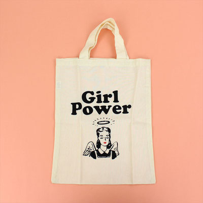 【GS123】Girl Power Tote Bag ¥1,000 +tax