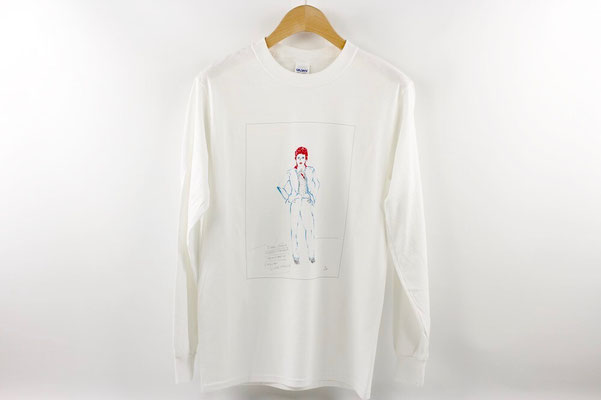 【GS254/GS255】 DAVID BOWIE Long T-shirts (S/M) \4,500 +tax